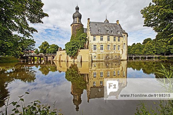 Burg Gemen  Borken  Münsterland  Nordrhein-Westfalen  Deutschland