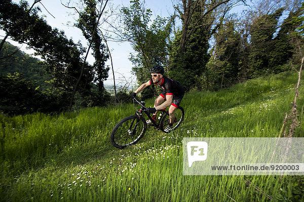 Mann Ländliches Motiv ländliche Motive Natur Riding Mountain National Park