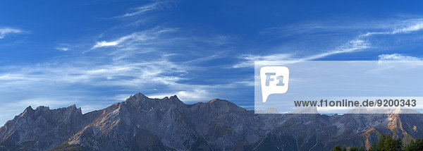 Rauher Kopf  Gatschkopf  Eisenspitze  Dawinkopf  Blankahorn und Parseierspitze  Lechtaler Alpen  Tirol  Österreich  Europa