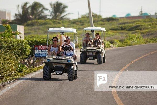 Forschung fahren Tourist Insel Nordamerika mieten Mexiko Fuhrwerk Golfsport Golf Cancun Isla Mujeres Quintana Roo