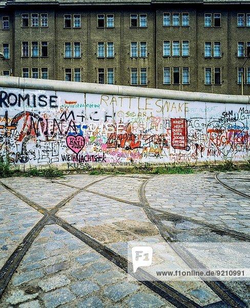 Wand, Straßenbahn, Graffiti, August, Deutschland