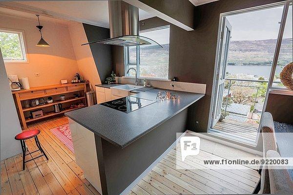 klein Apartment Innenansicht
