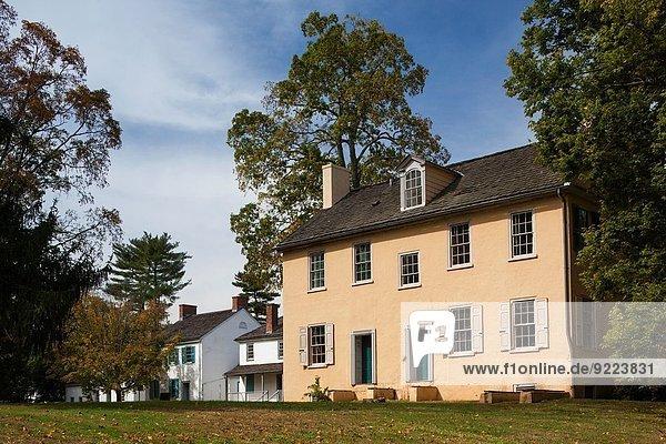 Vereinigte Staaten von Amerika USA überqueren Engagement Geschichte Fluss fangen amerikanisch Delaware Pennsylvania Trenton