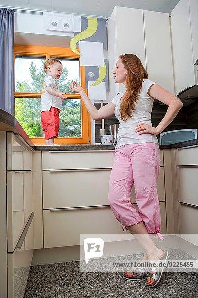 Junge - Person Küche 5 alt