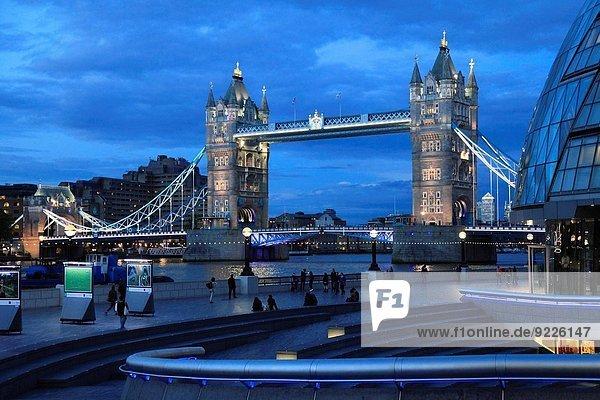 Großbritannien London Hauptstadt England Tower Bridge