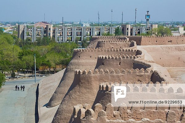 Uzbekistan  Khorezm Region  Khiva City (W.H.)  The City´s West Walls.