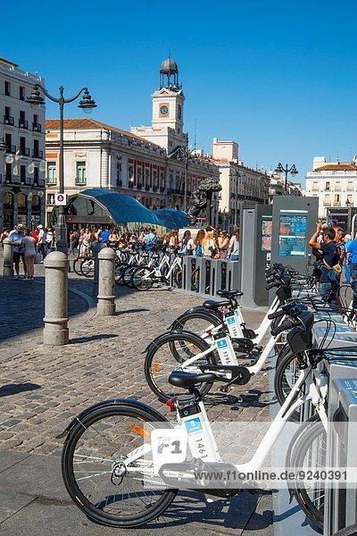 Madrid Hauptstadt Puerta del Sol Spanien