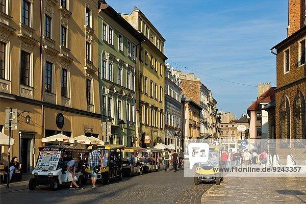 Altstadt Krakau Polen