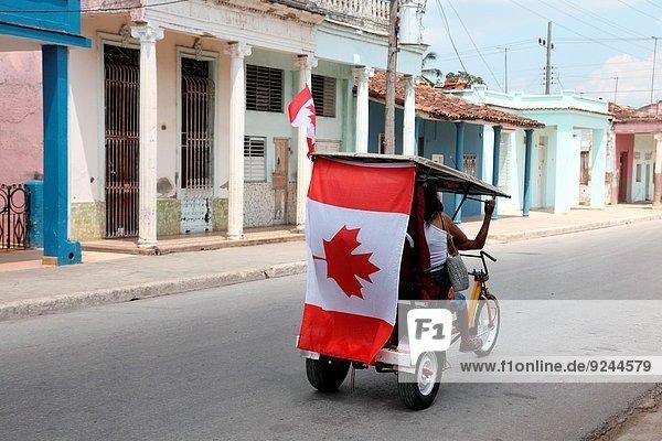 Fahne Kanada Ciego de Avila Kuba