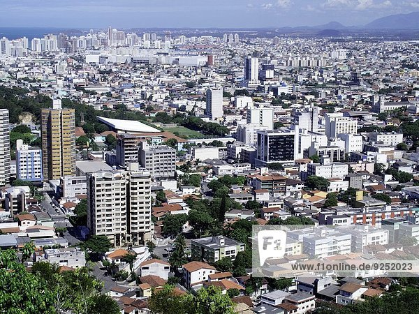 Skyline Skylines Gebäude Großstadt Nachbarschaft Brasilien