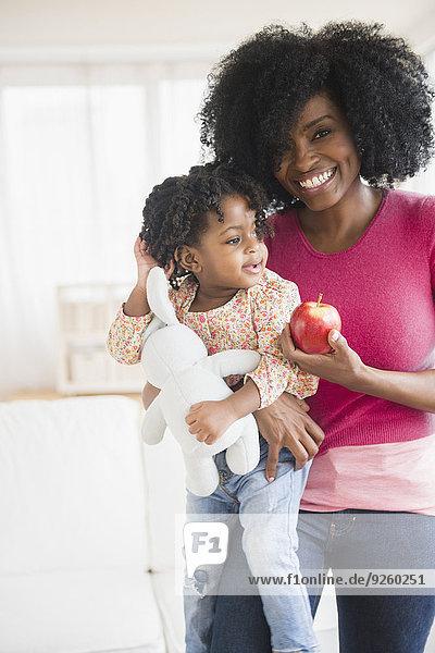Apfel Tochter Mutter - Mensch
