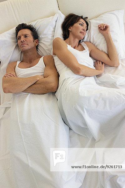 Konflikt Bett