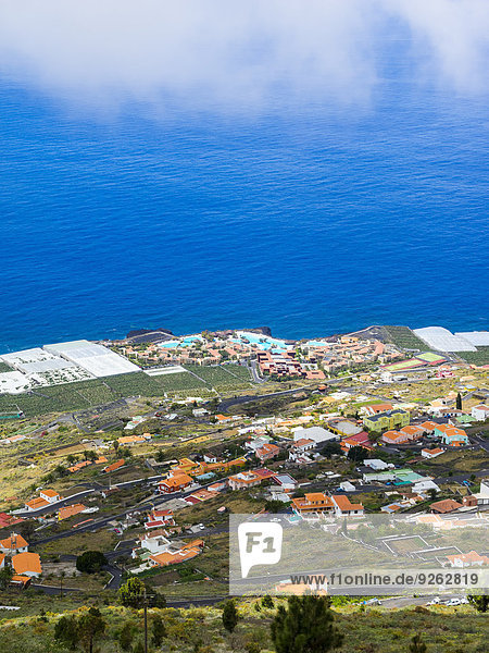 Spanien  Kanarische Inseln  La Palma  Fuencaliente  Blick nach Las Indias