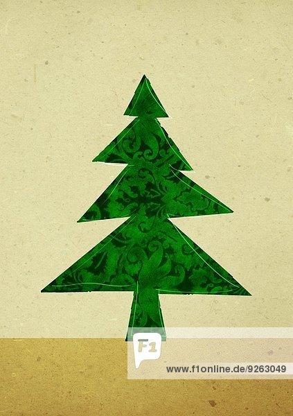 Weihnachtsbaum  Illustration