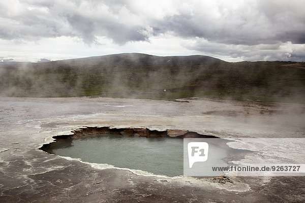 Insel  Hveravellir  Thermalquelle  Geothermiegebiet