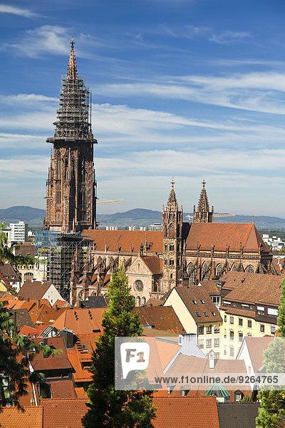 Deutschland  Baden-Wurttenberg  Freiburg  Blick auf Münster