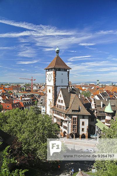Deutschland  Baden-Wurttenberg  Freiburg  Schwäbisches Tor  Schwabentor