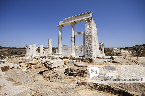 Greece  Cyclades  Naxos  Temple of Sangri  Demeter Temple