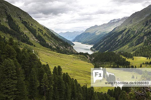 Österreich  Tirol  Kaunertal  Gepatschspeicher