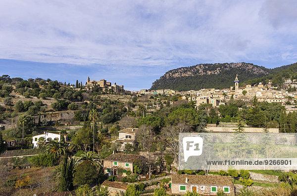 Spanien  Balearen  Mallorca  Valldemossa  S'Arxiduc