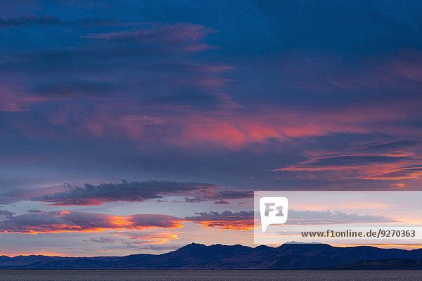 Sonnenuntergang Wüste Ansicht