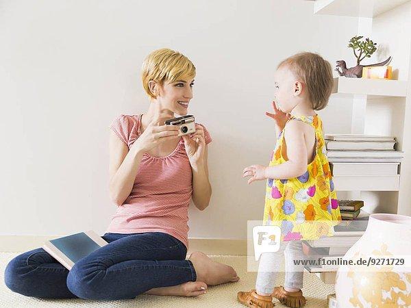 Tochter Mutter - Mensch Baby