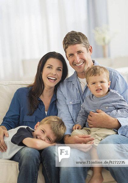 Portrait Sohn Menschliche Eltern 2 5-9 Jahre 5 bis 9 Jahre