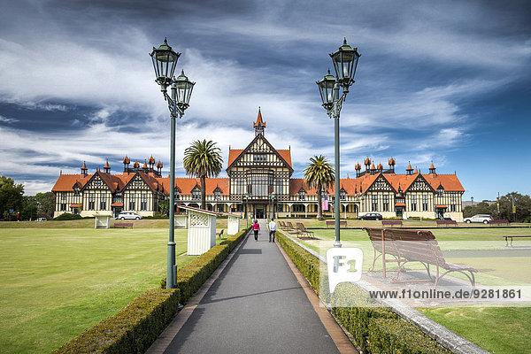 Geschichte Kunst Museum neuseeländische Nordinsel Neuseeland Rotorua