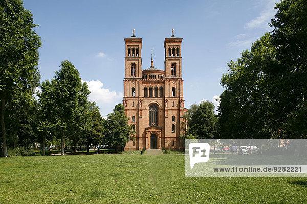 Kirche St. Thomas  Bethaniendamm  Kreuzberg  Berlin  Deutschland