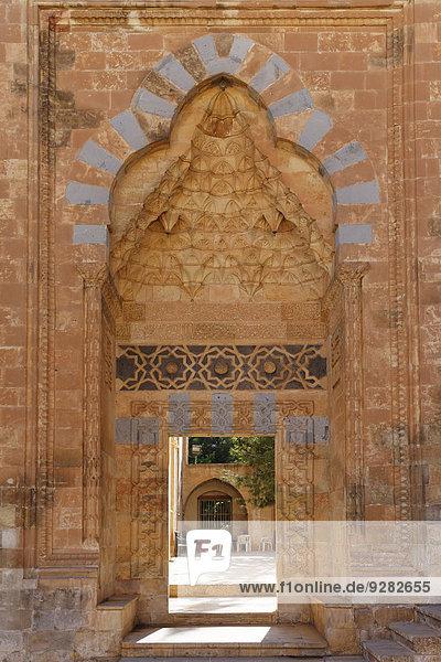 Portal der Abdullatif Moschee  Abdullatif Camii  Mardin  Südostanatolien  Anatolien  Türkei