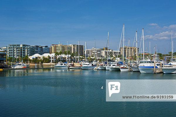 Yachthafen von Darwin  Northern Territory  Australien