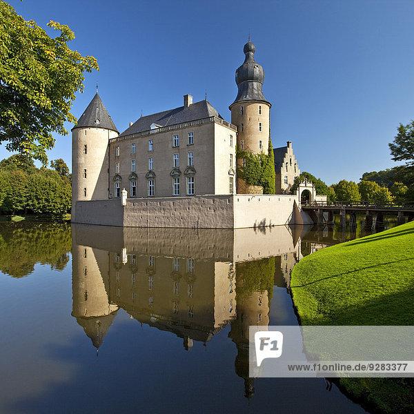 Burg Gemen  Wasserburg  Borken  Münsterland  Nordrhein-Westfalen  Deutschland