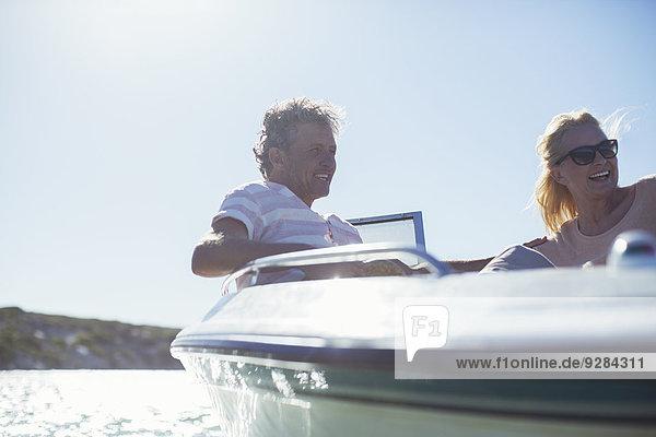 Gemeinsames Fahren im Boot