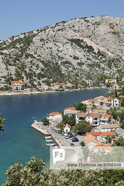 Stadt Ansicht Kroatien