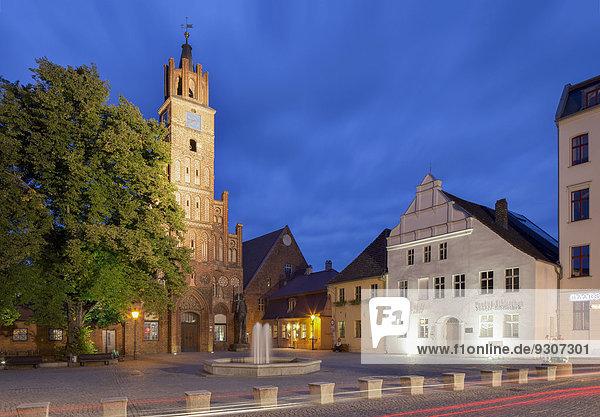 Old Town or Altstädtisches Rathaus Town Hall  Altstädter Markt  Brandenburg an der Havel  Brandenburg  Germany