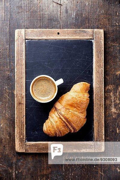 einsteigen Tasse Retro Kaffee Kreide Croissant Schieferplatte einsteigen,Tasse,Retro,Kaffee,Kreide,Croissant,Schieferplatte