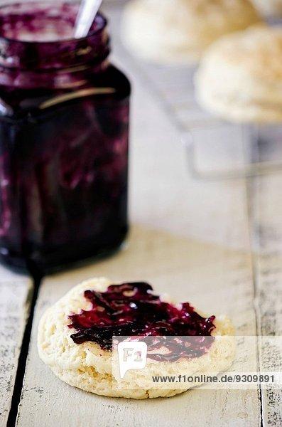 Keks Buttermilch Marmelade