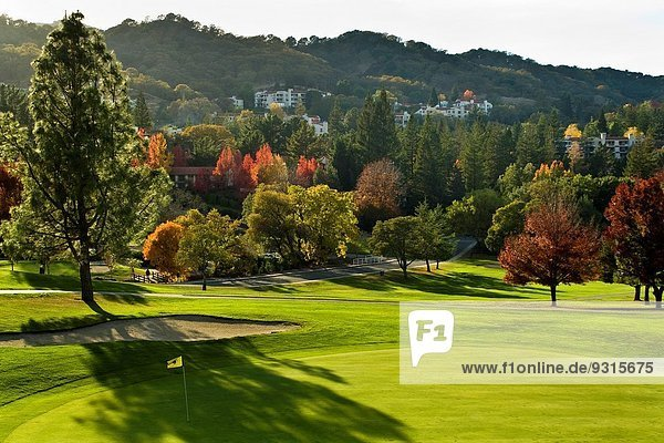 Senior Senioren Gemeinschaft Golfsport Golf Kalifornien Kurs