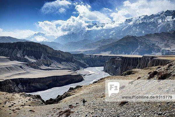 nahe Grenze Mustang Nepal Tibet