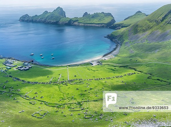 Kleine Menschengruppe Kleine Menschengruppen Europa Landschaft halten Dorf Insel 1 Globalisierung Inselgruppe Kultur Zustand UNESCO-Welterbe Bucht Juli Schottland