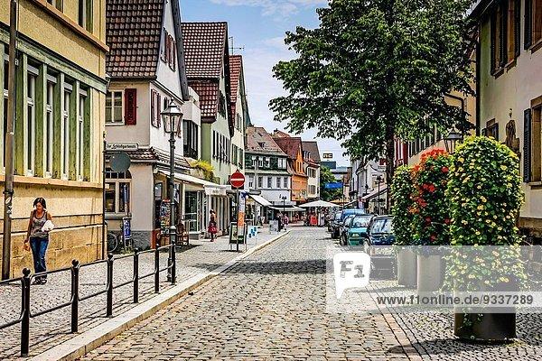 Stadt Sehenswürdigkeit Süddeutschland