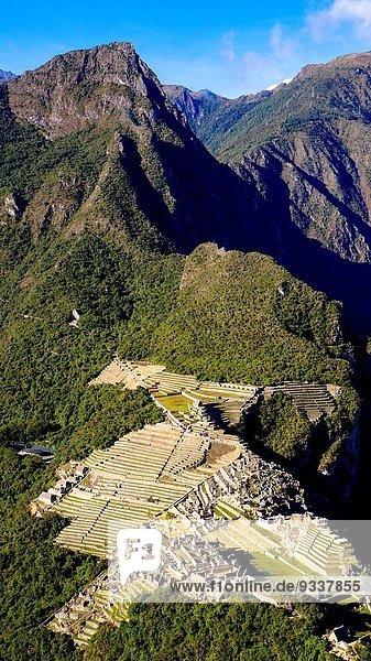 Berg Amerika Ozean Sperre Kolumbien Peru