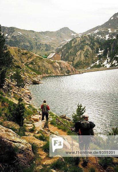 Estany major de Colomers. Aiguestortes National Park. Pyrenees  Spain.