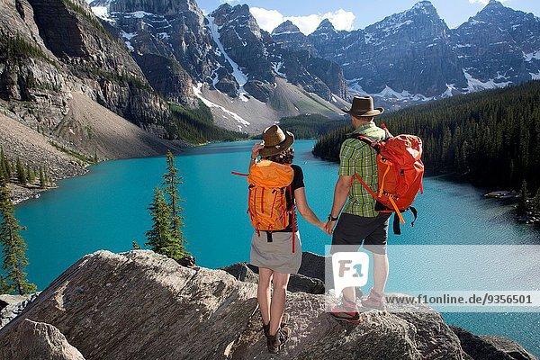 Nationalpark See Moräne Alberta Banff Kanada
