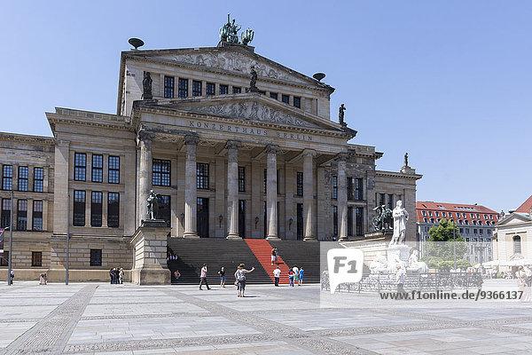 Deutschland  Berlin  Berlin-Mitte  Ansicht Konzerthaus am Gendarmenmarkt