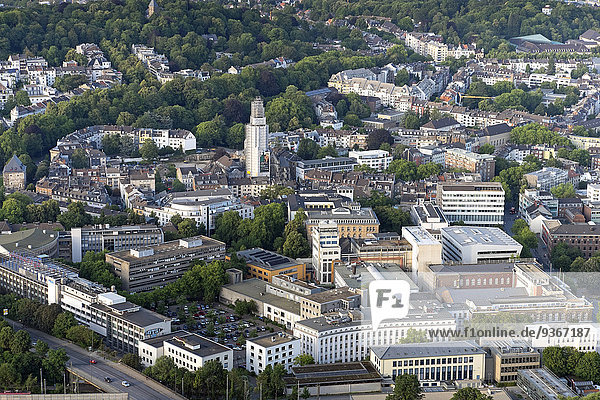 Deutschland  Nordrhein-Westfalen  Aachen  Luftbild der Innenstadt