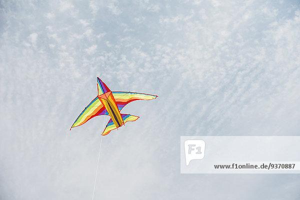 Flugzeug Farbaufnahme Farbe fliegen fliegt fliegend Flug Flüge Himmel blau Flugzeug,Farbaufnahme,Farbe,fliegen,fliegt,fliegend,Flug,Flüge,Himmel,blau
