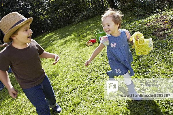 Garten spielen