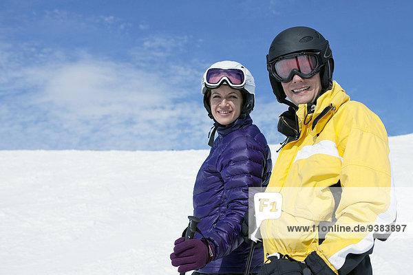 Urlaub Ski jung