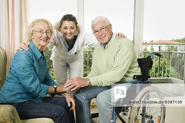 Senior Senioren Wohnhaus Sorge